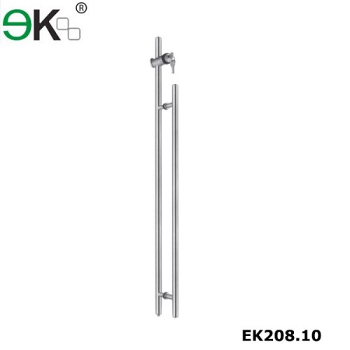 Stainless steel store heavy duty push-pull handle