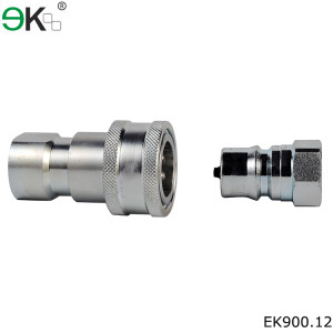 BSP ISO 7241 series B zinc plated fuel line quick connector