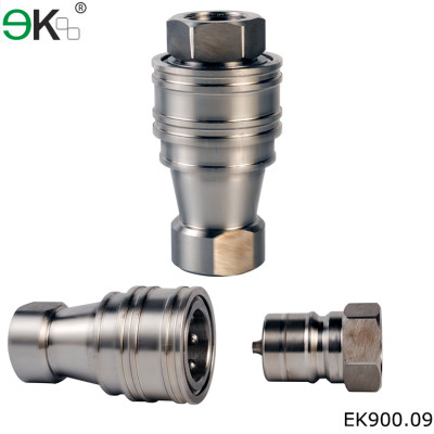 KZF gas f quick connector/ stainless steel quick coupling