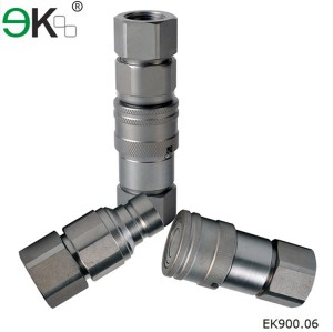 ISO16028 series Italy Standard female Hydraulic quick coupler