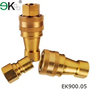 brass Liquid Quick Connector,fuel Hydraulic Pressure Fitting,hansen coupling