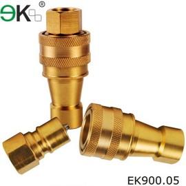 brass Liquid Quick Connector,fuel Hydraulic Pressure Fitting,hansen coupling