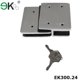 lockable two sided magnetic heavy duty gate latch