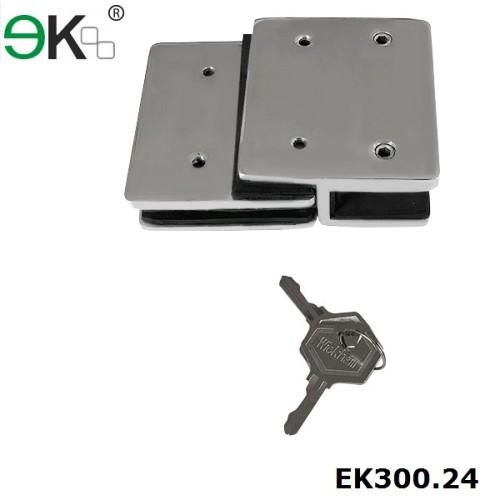 lockable two sided magnetic heavy duty gate latch