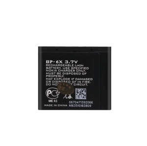 BP-6X battery for NOKIA