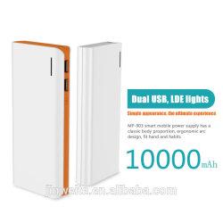 10000mah dual usb power bank for xiaomi