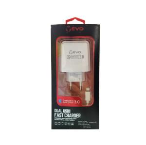 5V/6A 9V/2A 12V/1.5A 3 Ports fast mobile phone charger