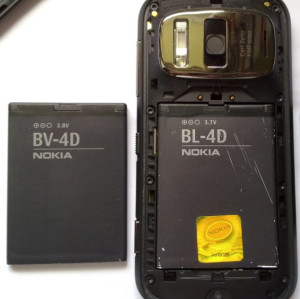 replacement battery for nokia bv-4d