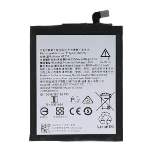 replacement battery for HE338 / NOKIA 2