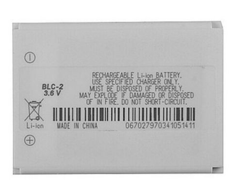 replacement battery for Nokia BLC-2 3310 3410 3510 5510/BMC-3
