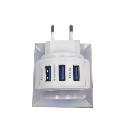 LED Touch Lamp with USB Port Mobile Phone Charger