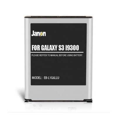 Original high capacity super polymer lithium battery for samsung galaxy S3 i9300 battery