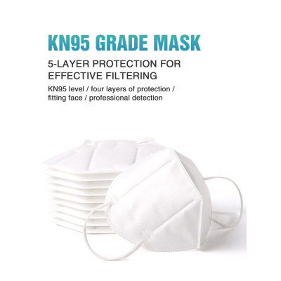 Disposable Protective NIOSH N95 Dust Mask disposable 3D Fold Dust N95 Face Mask with valve