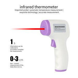 High Quality Laser ir Noncontact Baby Thermometer Infrared Gun Termometro Non Contact Digital Forehead Infrared Thermometer