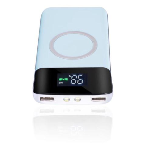 Hot-selling wireless power bank 10000mah