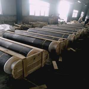 Low resistivity High bulk density SHP graphite electrode