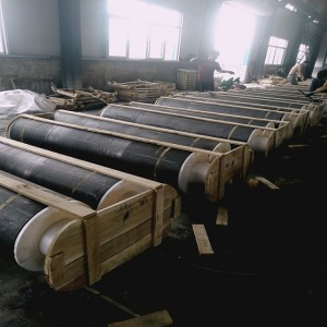 Low resistivity High bulk density SHP graphite electrode