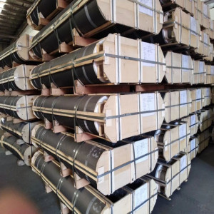 High carbon raw materials UHP with low consumption graphite electrodes