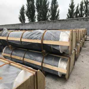 RP graphite electrodes with high bulk density and low break rate