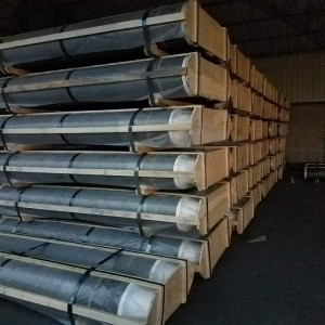 RP graphite electrodes with low consumption used for steel making