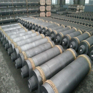 Regular power graphite electrodes with low consumption