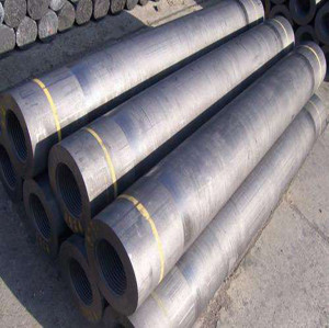 RP graphite electrodes with high bulk density and low resistance