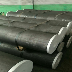UHP graphite electrodes apply in EAF arc furnace