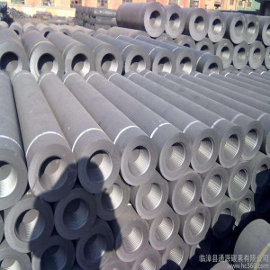 RP graphite electrode in steel making