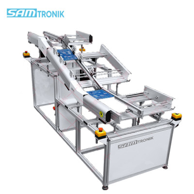 PCB Solder Outfeed Conveyor after wave soldering machine