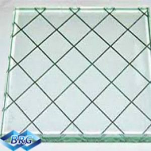Clear Wire Mesh Security Glass