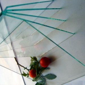 3mm 4mm transparent clear float building glass sheet