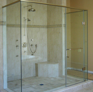 8mm 10mm 12mm thick tempered toughen glass shower door