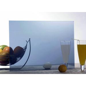 4mm 5mm dark blue reflective glass