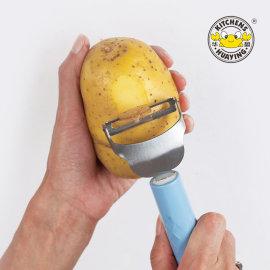 Kitchen gadget fruit knife melon zester stainless steel vegetable tools