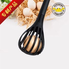 2 In 1 Plastic  whisk egg beater Food Tongs