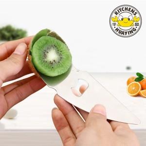 Stainless Steel Kiwi Fruit Peeler Slicer Cutter Fruit tools