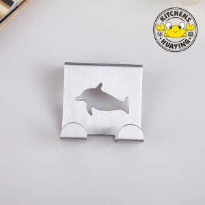 Hot Sale Stainless Steel 2cm Dolphin Door Hook