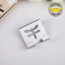 Hot Sale Stainless Steel 2cm Dragonfly Door Hook