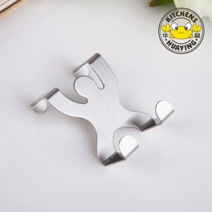 Hot Sale Stainless Steel 2cm Humanoid Door Hook