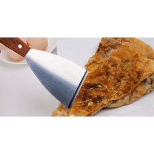 Hot Sale Stainless Steel Beveled Small Frying Shovel For The Kitchen