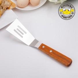 Woodlen Handle BBQ Tools Mini Spatula