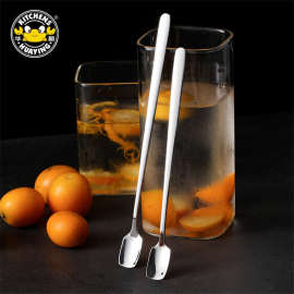 Hot Selling Stainless Steel 304 Round Stirring Spoon (Set) For The Kitchen