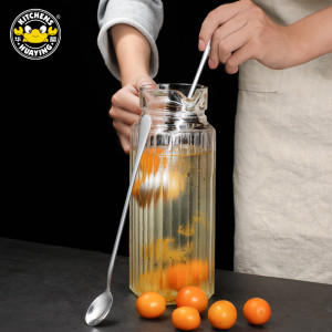 Hot Selling Stainless Steel Round Ice Spoon (Large Tip) For The Kitchen