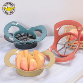 Hot Sale Promotional Plastic Colorful Apple Cutter