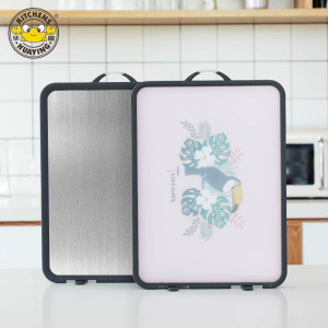 New style Chopping board Eco Friendly SS304 Chopping Block Easy to wash Cutting board