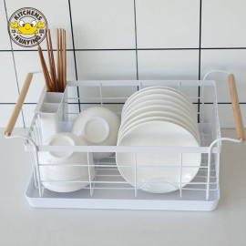 Kitchen accessories sink dish storage holder