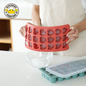 Ice Cube Tray with Lid Silicone Ice Cube Molds 21 Ice tray