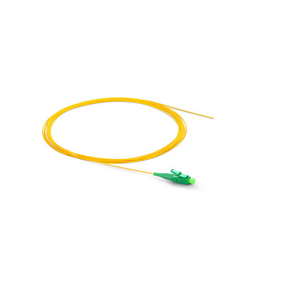 Single Mode Simplex 0.9mmTight Buffered LC FC ST SC / APC SC / UPC Pigtail for Sale