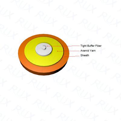 Cable de fibra óptica interior Simplex