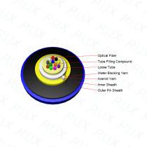 Single Axial Loose Tube Optical Fiber Lead-in Cable